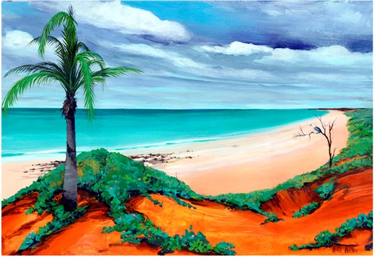 Cable Beach Colours - Print