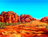 Bungle Bungle Range - Print
