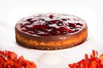 Mixed berry cheesecake - dessert catering