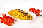 Moroccan Cous Cous Salad with pine nuts, raisins and capsicum - Salad catering