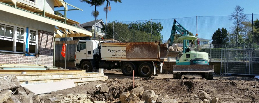 Backyard Excavation in Roseville