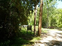 Coachwood Camping Area Entrance