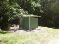 Frying Pan Creek Campground Toilets