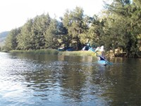 Kayaking on the Wollondilly River