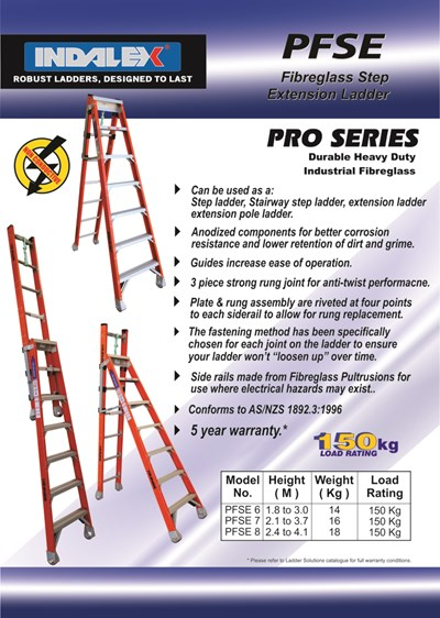 Pro Series Fibreglass Step - Extension 7 ft