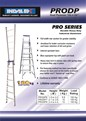 Indalex Pro Series Aluminium Dual Purpose 6ft (1.8m to 3.2m )