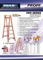 Pro Series Fibreglass Platform Ladder 15/12 (12ft / 3.6m Platform )