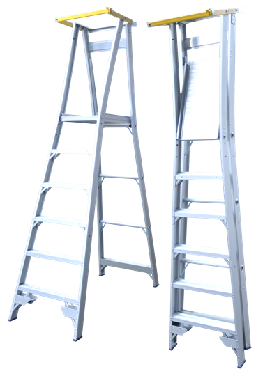 Platform Ladder Locking Gate
