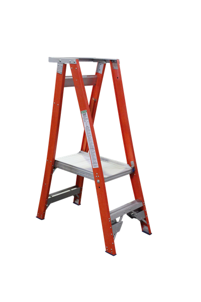 Pro Series Fibreglass Platform Ladder 5/2 (2ft / 0.9m Platform)