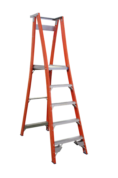 Pro Series Fibreglass Platform Ladder 8/5 (5ft / 1.5M Platform)