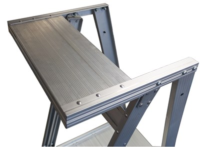Heavy Duty Top Shelf for Platform Ladders