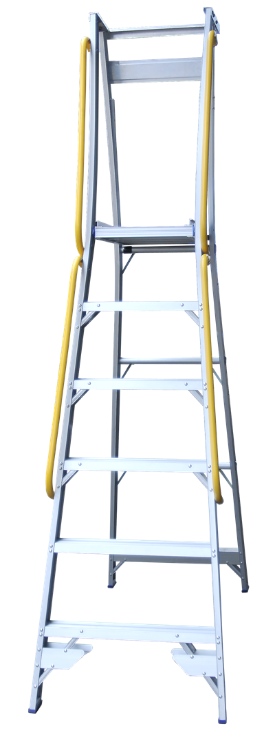 Pro Series Platform Ladder Side Handrails