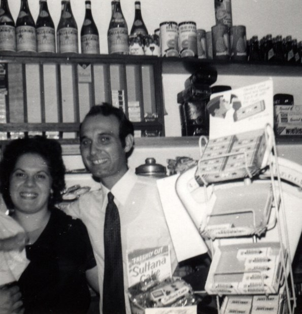 Mary and Mimmo early days!