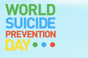 World Suicide Prevention Day this Thursday, 10 Sept