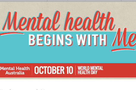 World Mental Health Day today 10 October