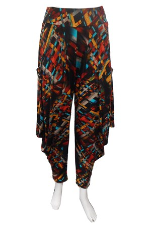 SOLD OUT - PRINT 647 - Rhianna printed harem pant