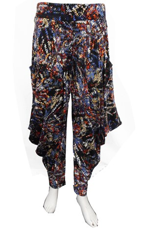 LIMITED STOCK - PRINT 482 - Rhianna printed harem pants