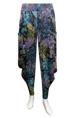 LIMITED STOCK - PRINT 192 - Rhianna printed harem pants