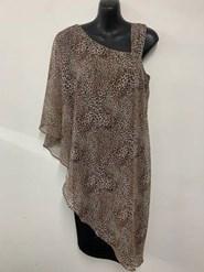 Chiffon Dress ANIMAL PRINT