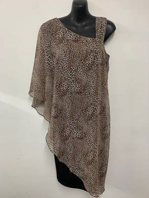 Chiffon Dress ANIMAL PRINT