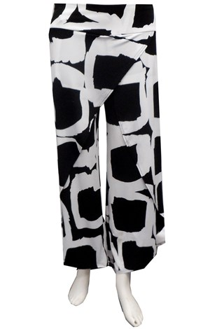 SOLD OUT - PRINT 515 - Tammy printed skirt front pant