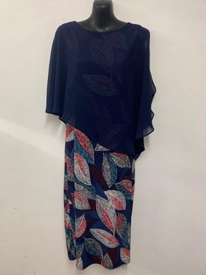 Printed Chiffon Overlay Dress NEW PRINT 2
