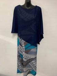 Printed Chiffon Overlay Dress New Print 4