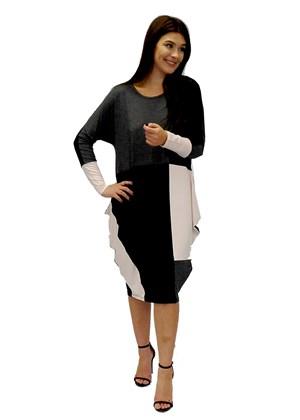 Marinda tunic cowl dress
