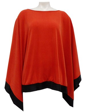 FIRE - Winter poncho