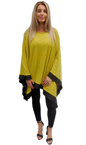 LIME - Winter poncho