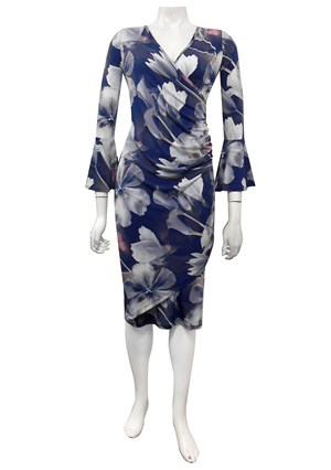 SOLD OUT COMING SOON - Tilly wrap dress