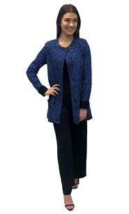 Mary jacquard knit jacket