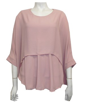 BLUSH - Ellen DG overlay top