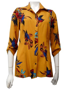 MUSTARD - Lynelle print shirt