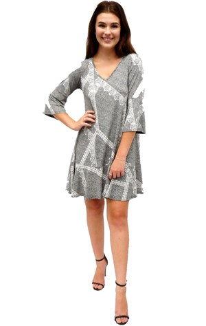 Alex frill dress
