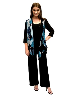 LIMITED STOCK - Betty chiffon waterfall shrug