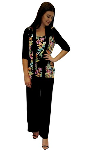 LIMITED STOCK - PRINT 591 - Maryann printed top
