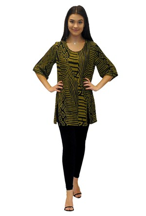 Margo tunic with splits