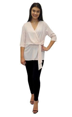 LIMITED STOCK - Louise tunic top with tie