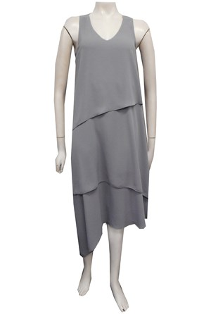 SILVER - Kate layered dress
