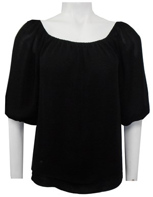 BLACK - Lola double layer top