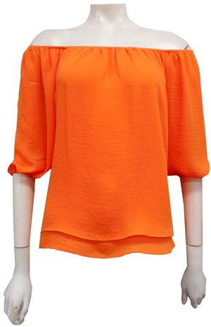 ORANGE - Lola double layer top