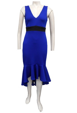 COBALT - Jacinta contrast band dress