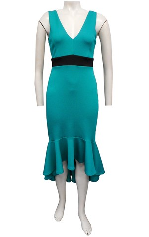 JADE - Jacinta contrast band dress