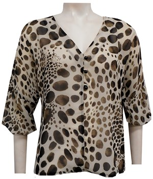 LIMITED STOCK - PRINT 178 - April chiffon blouse