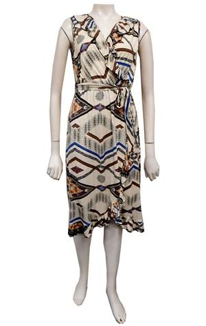 Susan frill front dress