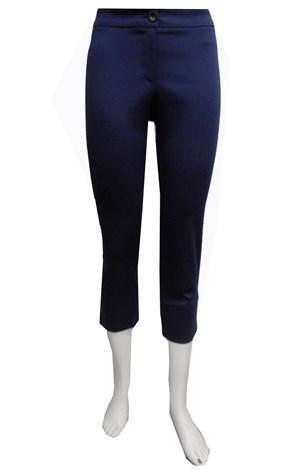 NAVY - Cropped capri pants