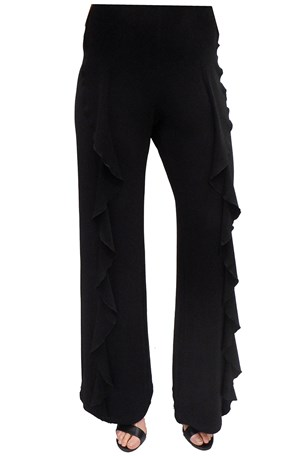 LIMITED STOCK - BLACK - Erin frill pant