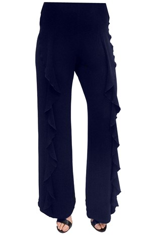 LIMITED STOCK - NAVY - Erin frill pant