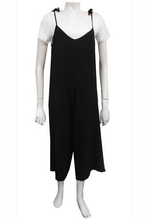 LIMITED STOCK - BLACK - Stella jumpsuit